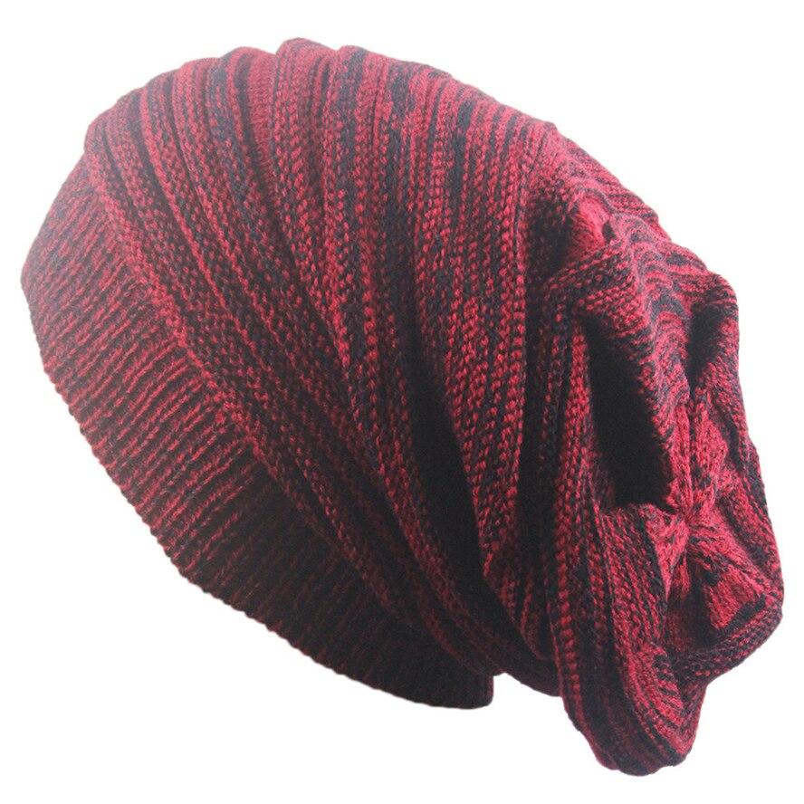 Liva Girl Men Winter Hats Women Knitted Hat Bonnet Caps Baggy Brand Women's Winter Hats For Men Warm Wool Skullies Beanie 2017 winter women beanie skullies men hiphop hats knitted hat baggy crochet cap bonnets femme en laine homme gorros de lana