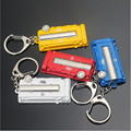 Car Styling for Honda Vtec TURBO Turbine Engine Cover Key Button Modification Style Keychain Metal Key Chain Key Ring