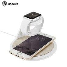 BASEUS для Apple watch держатель стенд зарядное устройство док Apple Смарт Часы Время Серии Белый Черный