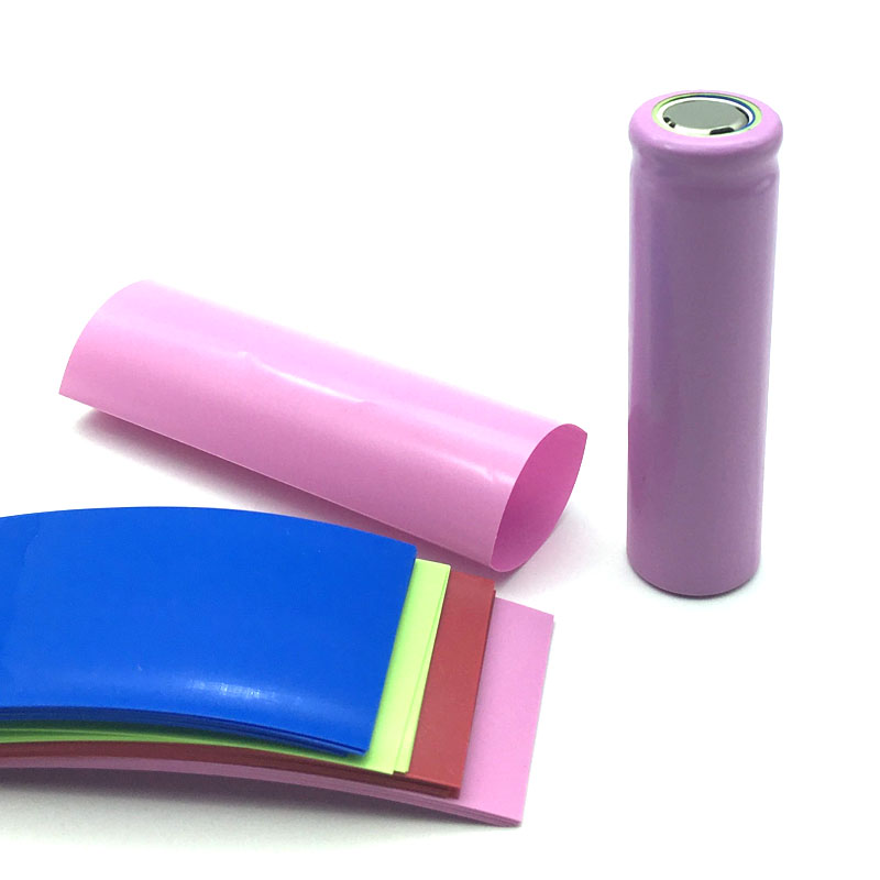 50pcs PVC <font><b>21700</b></font> <font><b>Battery</b></font> <font><b>Sleeve</b></font> Heat Shrink Film Tube Wrap 77*34mm Fast Shipping image