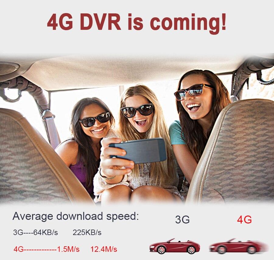"6.86"" inch 4G ADAS Car DVR Dash Cam Mirror GPS Bluetooth WIFI Android 5.0 Dual Lens FHD 1080p Video Recorder Camera 1"