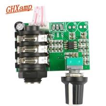 GHXAMP Voorversterker Voorversterker Gitaar Instrument TL072 Op Amp Hoge Impedantie Audio Board Pre versterker Signaal Versterker Enkele 12 v