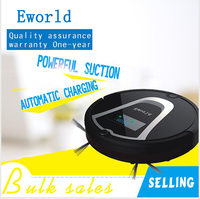 Eworld Dry Function And Robot Installation Robot Vacuum Cleaner M884 With Automatic Recharge Robot Fregasuelos For Floor Clean