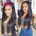 Full Lace Brazilian Virgin Wigs Lace Front Human Hair Wigs With Baby Hair Top Straight Full Lace Human Hair Wigs For Black Women