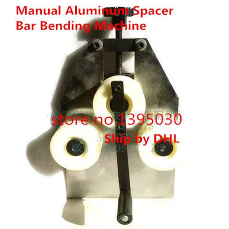 1 Stks Handleiding Aluminium Spacer Bar Buigen Machine Obstructie Verwijderen