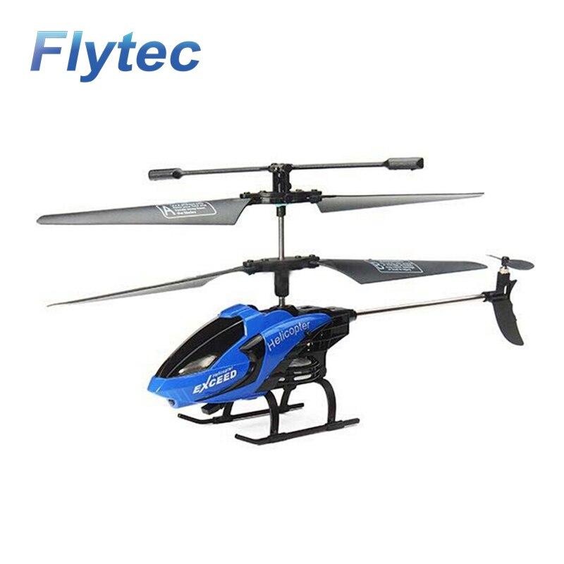 Flytec Professionnel RC Drone FQ777-610 Mini Hélicoptère 3.5CH 2.4 ghz Mode 2 RTF Gyro FQ777 610 Télécommande Quadcopter Pour enfants