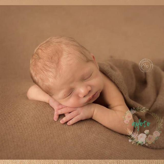 150*160 cm Newborn Photography Crochet Fabric Backdrop Simple Knit Backdrop Newborn Backdrop Posing 200*160 cm Soft  Fabrics