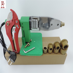 Image 5 - Teflon 4Sets Heads Heating Element 220V DN16 32mm Soldering Iron For Plastic Pipes, Automatic PPR Welding, Extruder For Plastic
