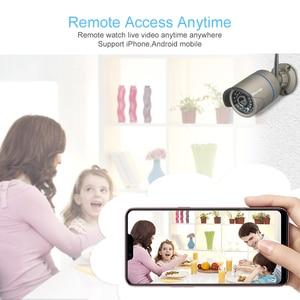 """Image 5 - Techage 8CH 1080 720p ワイヤレスセキュリティカメラシステム 12 """"液晶モニター Wifi NVR 屋外オーディオ CCTV カメラ P2P ビデオ監視セット"""