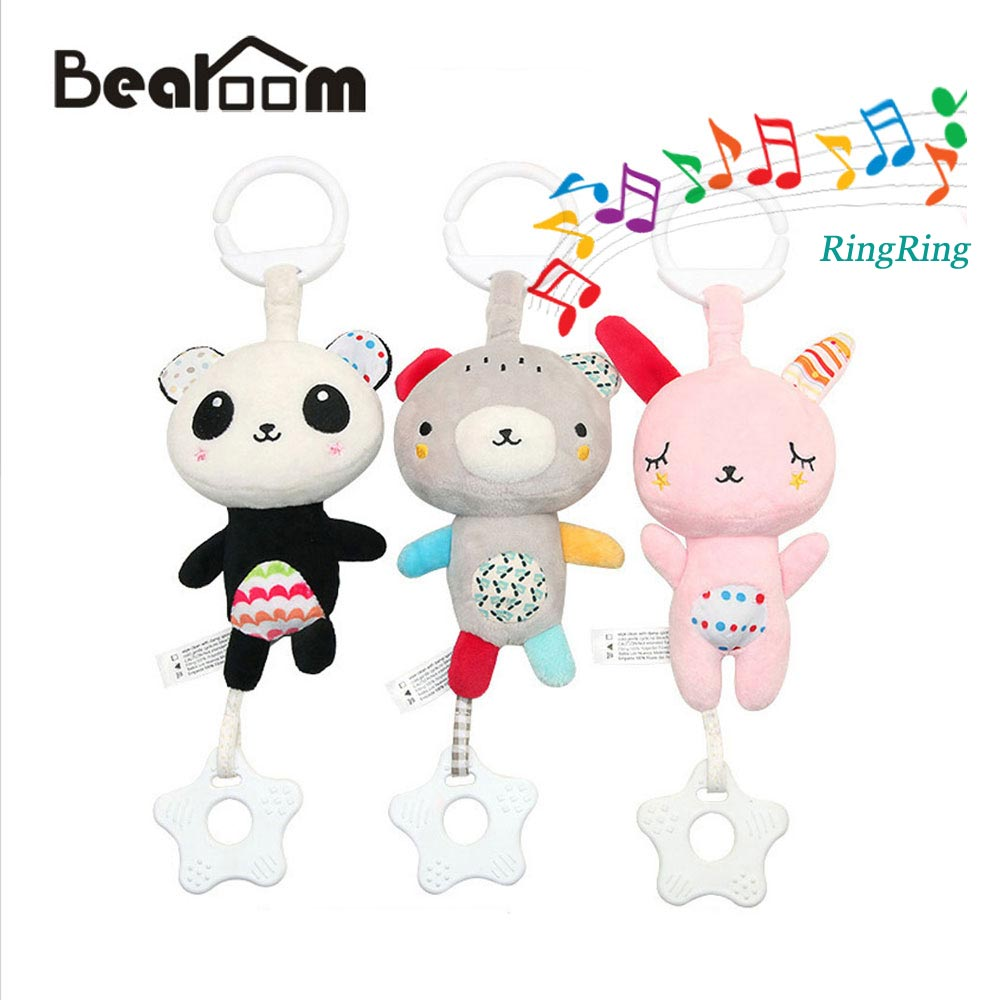 Leadingstar Baby Cute Rattles Musical Hand Bells With Sound Lights Newborn Sand Hammer Bite Teether Educational Toys Baby & Toddler Toys Baby Rattles & Mobiles