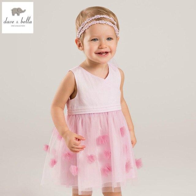 914ab96b0826 DB5049 dave bella estate neonate principessa dei fiori vestiti da cerimonia  nuziale di compleanno ragazze lolita