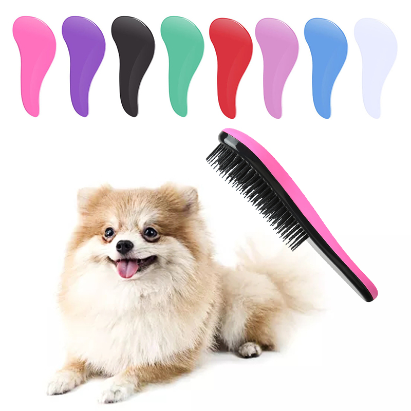Pet Supplies Pet Hair Removal Brush For Dogs Cats Puppy Dog Massage Comb Deshedding Tools Cat Grooming Dog Accessories