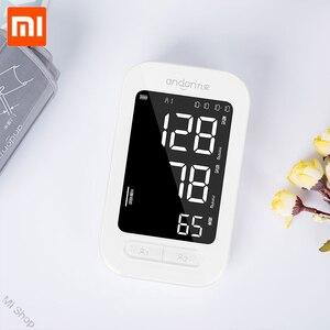 Image 3 - Monitor de presión arterial Xiaomi Mijia Andon, pulsómetro inteligente para brazo, esfigmomanómetros y tonómetros