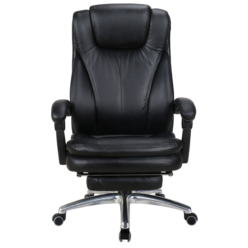 Reclining Leisure Office Chair Household Computer Lift Rotation Study Room Office With Backrest Thick Cushion Adjustable Angle