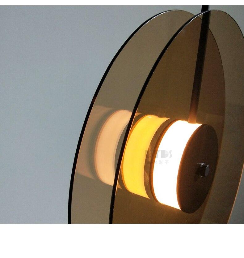 Постмодерн Ресторан подвесные светильники Роскошные креативные стеклянные скандинавский дизайнерский арт подвесные светильники для спальни