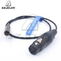 MINI XLR 3pin male to XLR 3pin female for Blackmagic Pocket Cinema BMPCC 4k Camera Audio cable