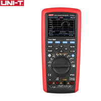 UNI T ut181a verdadeiro rms datalogging multímetros  0.1% teste de precisão smart telefone/pc software  função de captura de tendência ip65 à prova dip65 água|Multímetros|Ferramenta -