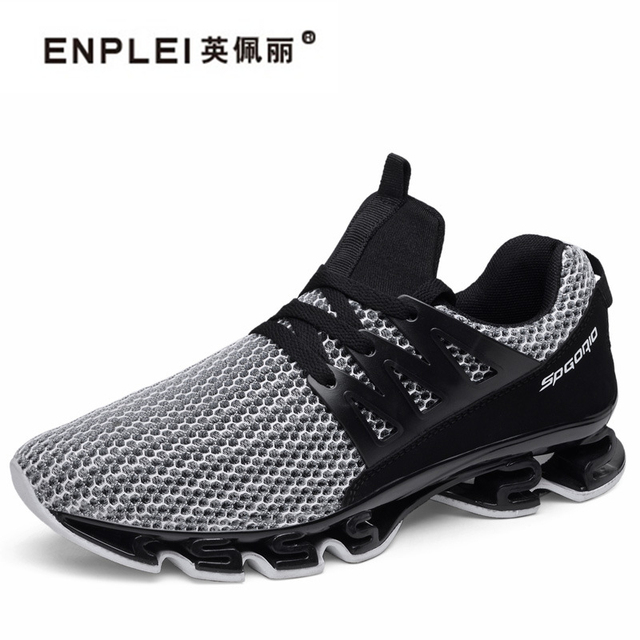 2b43004ba3e ENPLEI Spring Summer Men s Sneakers 2018 Men Running Shoes Trending Style  Sports Shoes Breathable Trainers Walking shoes For Mal