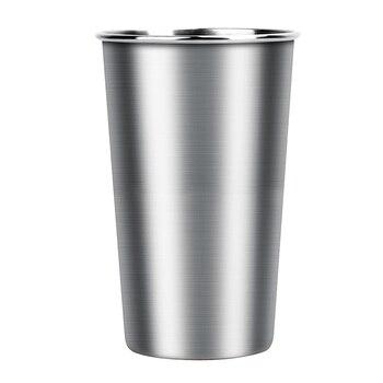 Sikè - Bicchiere in acciaio inossidabile da 350 ml