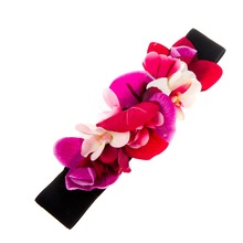 Fashion Elastic Flower Belt