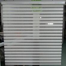 Нестандартного размера тень 100% полиэстер полупрозрачные ролик зебры жалюзи в бежевый гардины для гостиной 20 цветов доступны