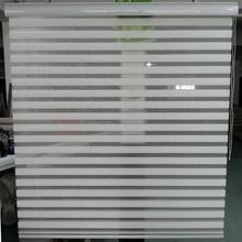 Custom Size Shade Horizontal Elegance Sheer Roller Zebra Blinds in Beige font b Window b font