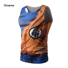 Dragon Ball Super Saiyan Tank Top Kakarotto Goku Vegeta Armour t shirt tees DBZ Fitness Vest Crossfit Tops Bodybuilding Clothing
