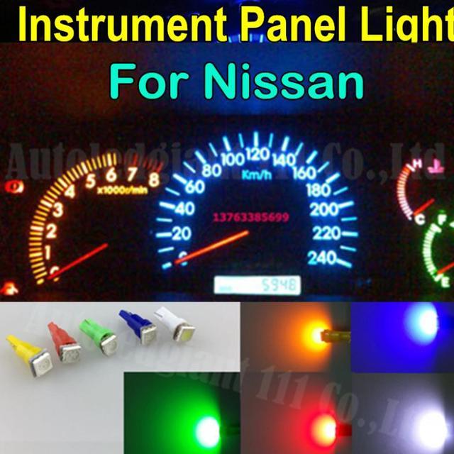 60x T5 74 Led Dashboard Speedometer Gauge Indicator Light: Nissan Quest Dash Lights
