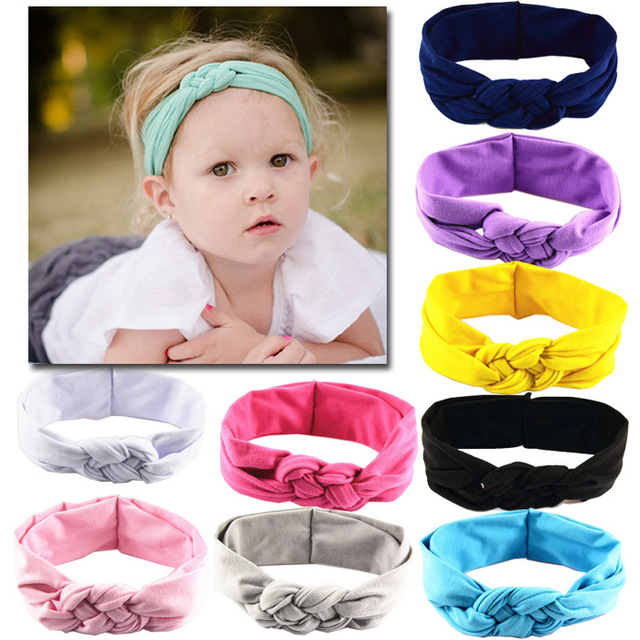 BABY hairstyles Hand knit Children Accessories Baby Girl Cross ...