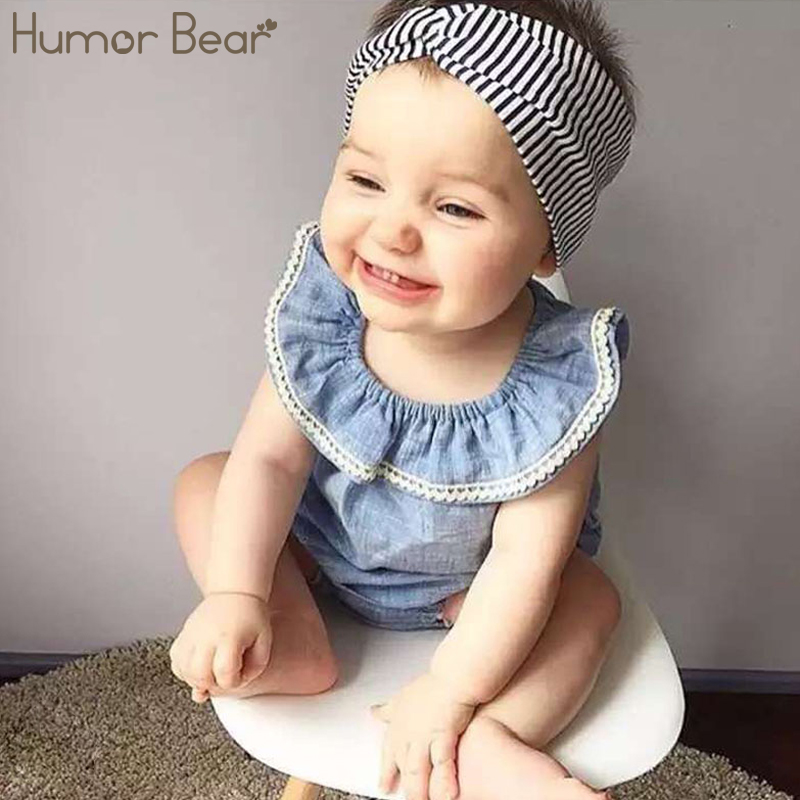 Humor Bear Baby Girls Clothes Set Suit Kids Clothing Infant Clothing Casual Baby Girl Clothing Set