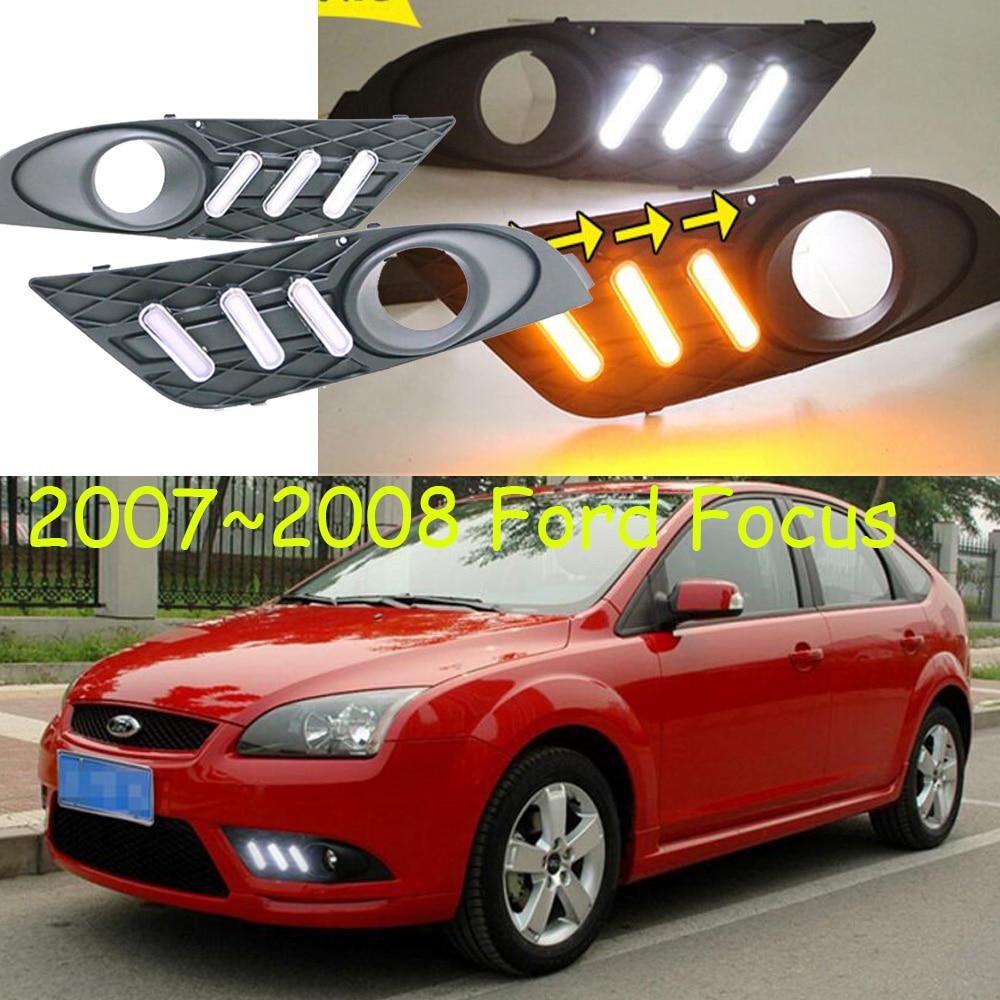 2007 2008,Focu daytime light,car accessories,Free ship!Focu fog light,LED,motorcycle,Focu HEADLIGHT,car styling,edge,kuga