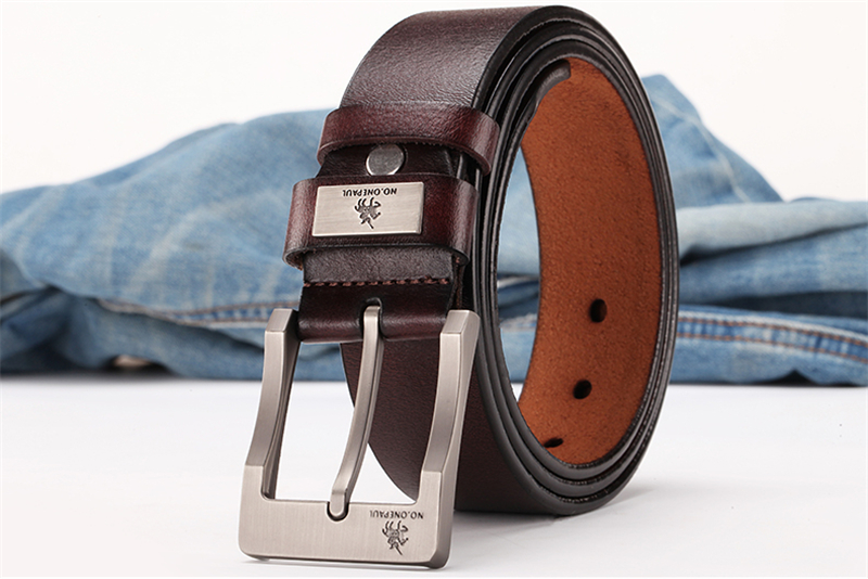 HTB1N83EadjvK1RjSspiq6AEqXXaP - NO.ONEPAUL buckle men belt High Quality cow genuine leather luxury strap male belts for men new fashion classice vintage pin