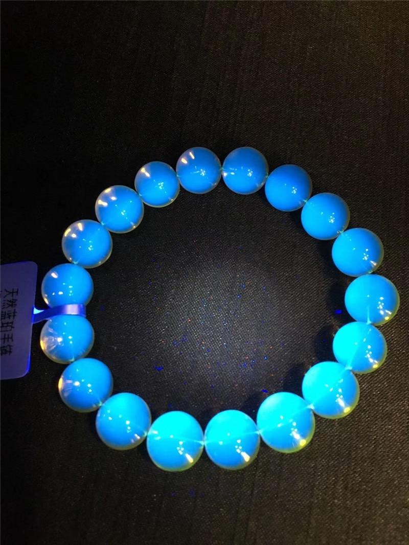Natural Blue Amber Bracelets (3)
