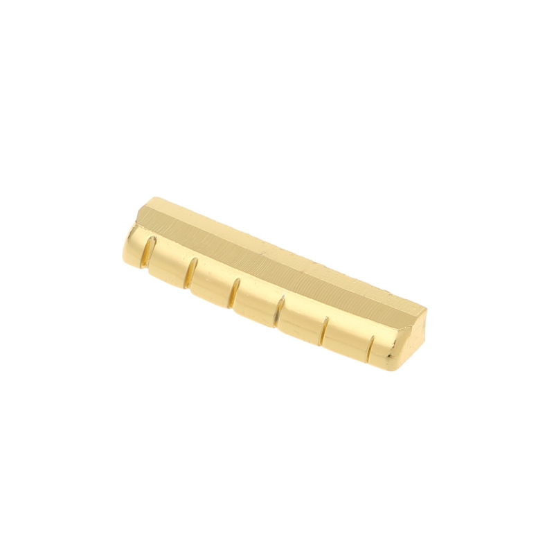 6 String Slotted Guitar Nut for Fender Stratocaster 43mm LP Guitar Replacement