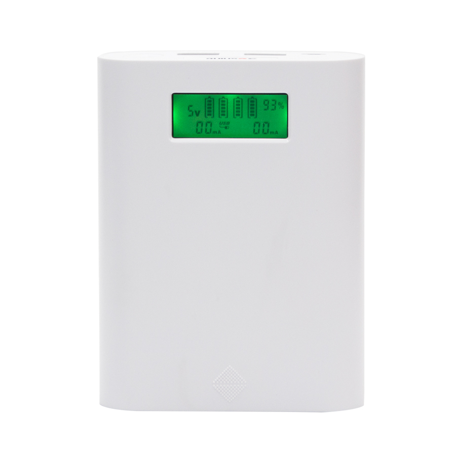 Soshine E3S LCD Charger Powerbanks 2A Dual USB Output Mobile Charger Portable18650 Battery Charger Power Bank