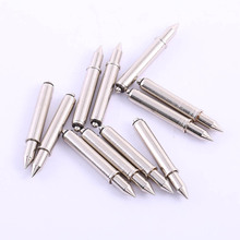 Home Improvement Supplies Hardware Electronic Positioning Pin 50 Pcs Spring Pointed Drill Nickel Plating Test Positioning Pin