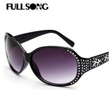 Fullsong gafas de sol retro gafas de sol uv400 gafas de sol gafas lunettes de soleil mujeres gafas gafas de diamantes cat eyes