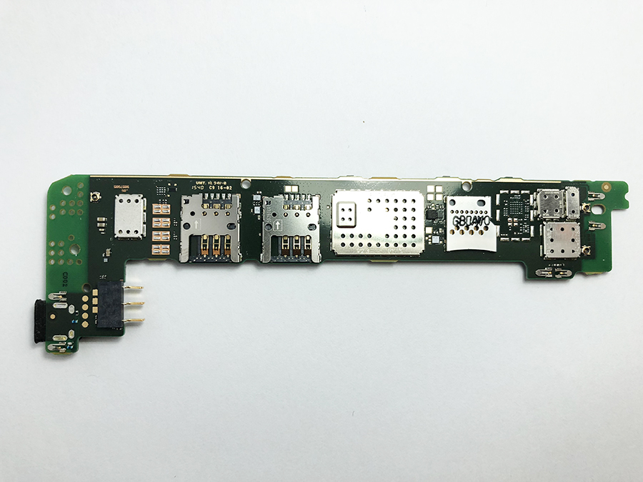 OUDINI Débloqué Original Pour microsoft lumia 640 Carte Mère Test 100% pour nokia 640 RM-1077 carte mère double carte sim