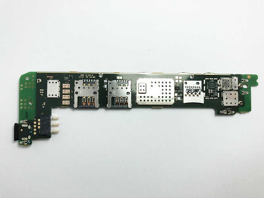 OUDINI Desbloqueado Original Para microsoft lumia 640 Motherboard Teste de 100% para nokia 640 RM-1077 motherboard dual simcard