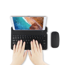 Bluetooth Keyboard For Xiaomi Mi Pad 4/3/2/1 Tablet PC Wireless Bluetooth keyboard for MiPad 1/2/3/4 MiPad4 3 mi pad3 2 1 4 Case