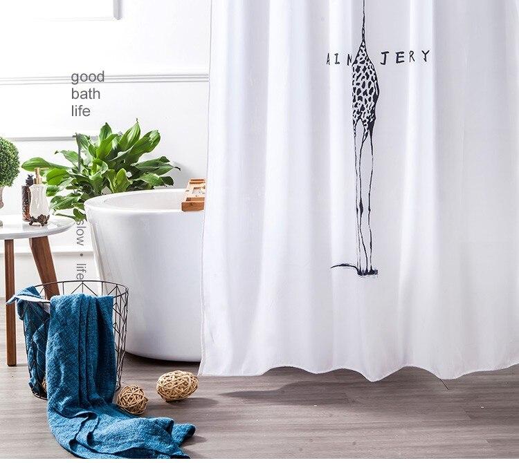 Aimjerry branco e preto tecido personalizado banheira
