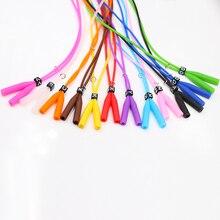 COLOUR_MAX 1 Pcs  Candy Color Elastic Silicone Eyeglasses Straps Anti-slip Ear Grip