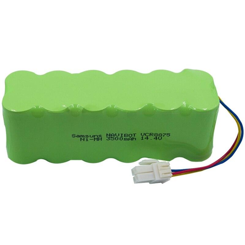Chaud!-14.4 V 3500 Mah aspirateur Robot batterie Rechargeable Ni-Mh pour Samsung Navibot/S Rb8825/8840/8890 Ect