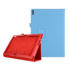 Folio Stand PU Case For Lenovo Tab P10 TB X705 M10 TB X605 X605 Normal Protector Tablet Cover 100PCS/Lot