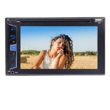 """Eincar cámara de visión trasera + doble din 6.2 """"navegación GPS en el tablero estéreo del coche receptor audio video player bluetooth FM Radios"""