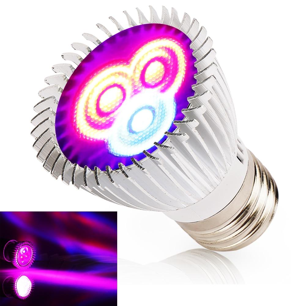 6W 15W 21W 27W 36W 45W 54W LED растеж светлина - Професионално осветление - Снимка 2