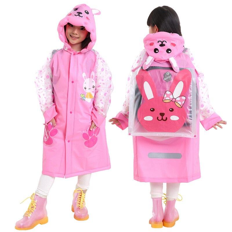 Raincoats Household Merchandises Faithful Boy Girls Raincoat Cartoon Style Long Rain Coat For Children Kids Rain Wear Outdoor Tools Rain Gear Yt018 Ideal Gift For All Occasions