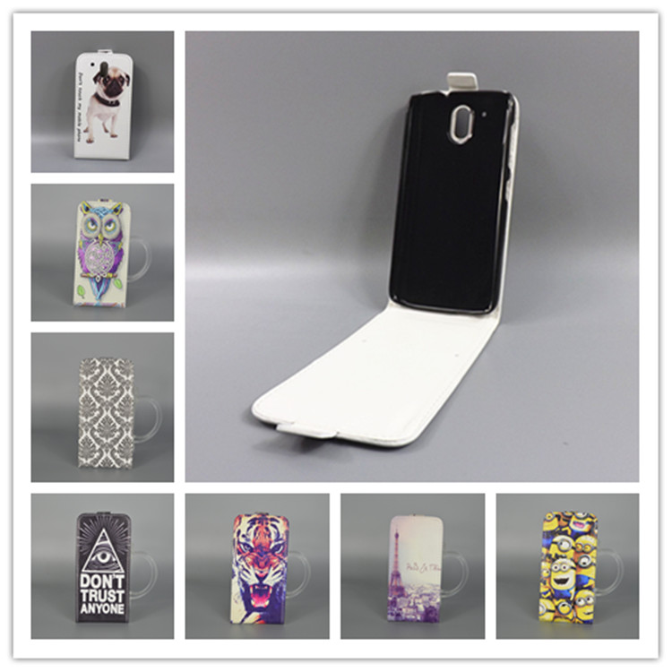 best website 68128 4aebb US $1.68 5% OFF|For HTC Desire 326G / Desire 526 526G dual sim 526G+Hot  Pattern Cute PrintingVertical Flip Cover Open Down/up Back Cover case-in  Flip ...
