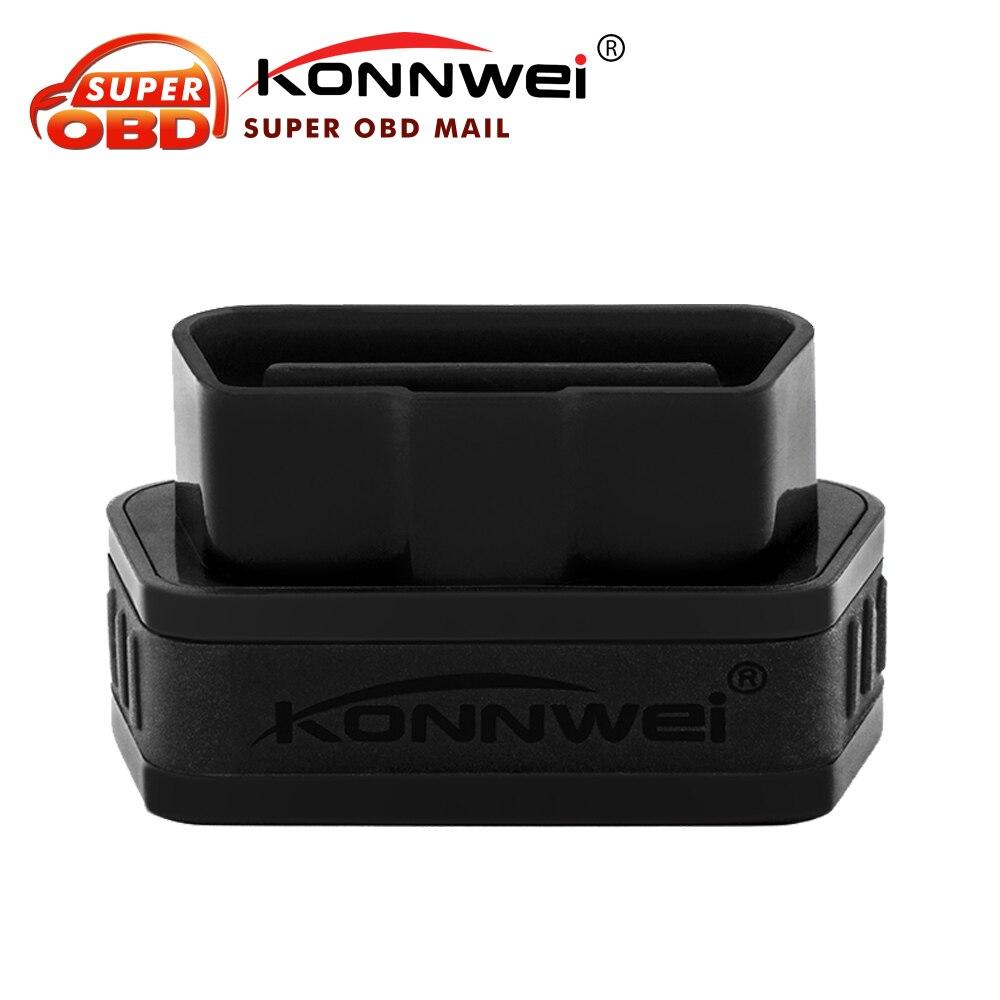 Prix pour Konnwei KW901 ODB2 II De Diagnostic Code Scanner Lecteur Android 5 Couleurs ELM327 Bluetooth Couple Pour Android Windows Livraison Gratuite