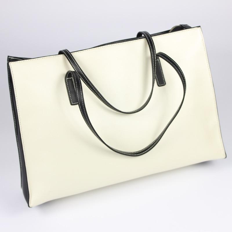 burgundy Black blue Leatether echtes Rindleder Große blackwhite Designer Black Kapazität Qualität handtaschen white Maihui Einkaufstasche Umhängetaschen Hoher Neue Frauen RTwpxO4q